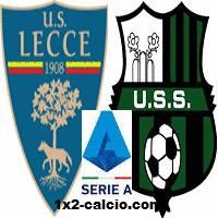 Pronostico Lecce-Sassuolo