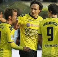 probabili formazioni Dortmund-Bayern