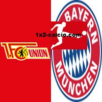 Pronostico Union Berlino-Bayern
