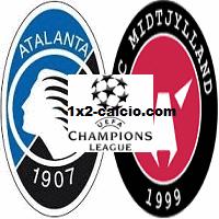 Pronostico Atalanta-Midtjylland