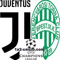 Pronostico Juventus-Ferencvaros
