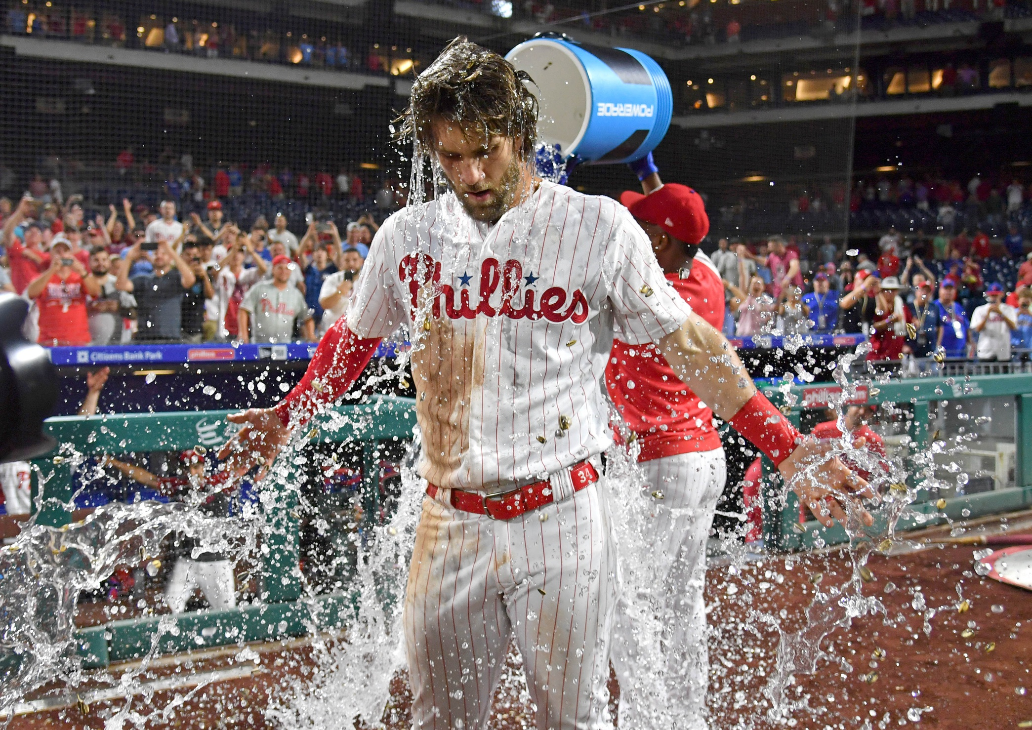 Here are the TV and Radio Calls of Bryce Harper's Walk-off Hit - Crossing Broad