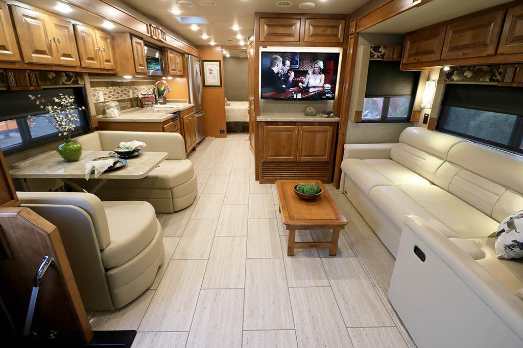 leatherette sofa folding bed price india 2018 tiffin motorhomes allegro, 34pa   bucars rv dealers
