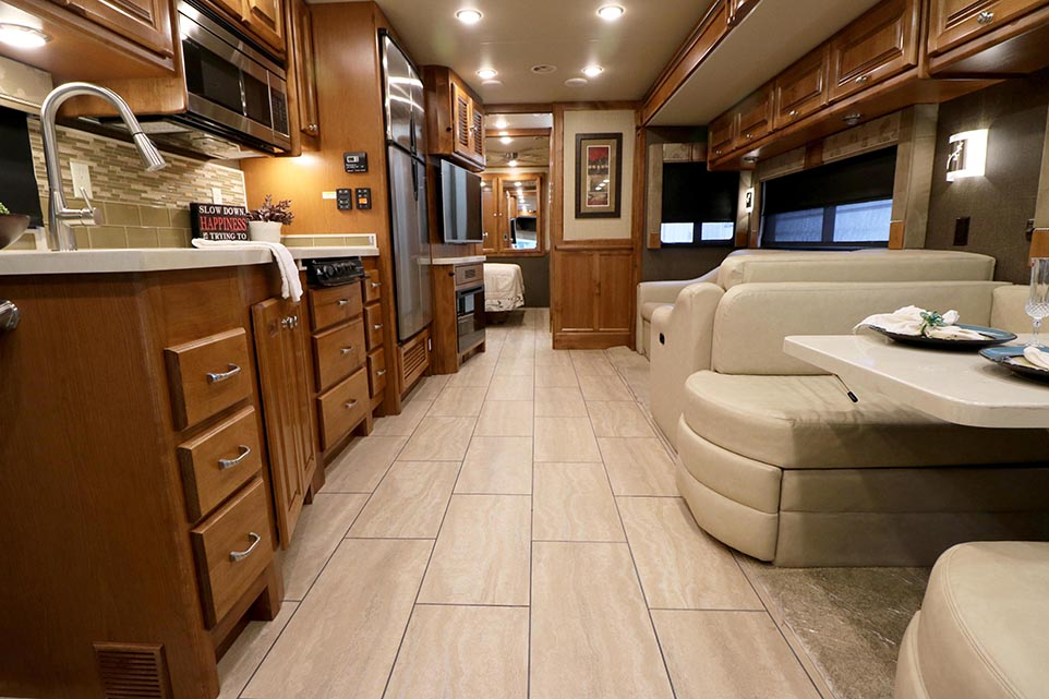 recliner sofa for rv franklin reclining with drop down table 2016 tiffin motorhomes allegro, 32sa   bucars dealers