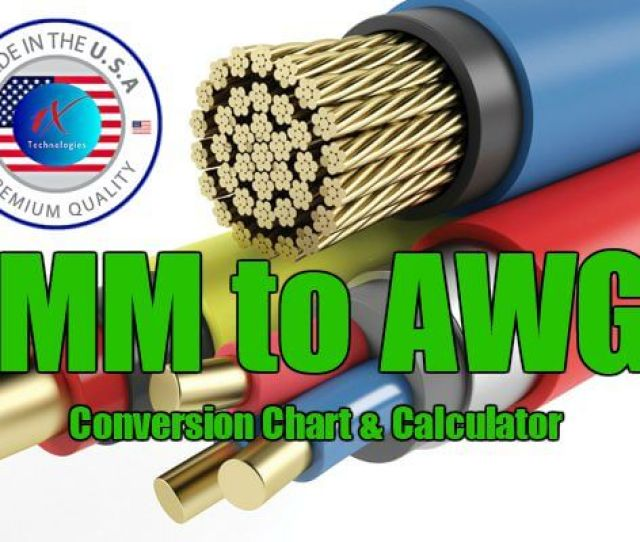 Mm2 Converted To Awg Metric To American Wire Size Chart Calculator Table And Pdf Mm To Awg