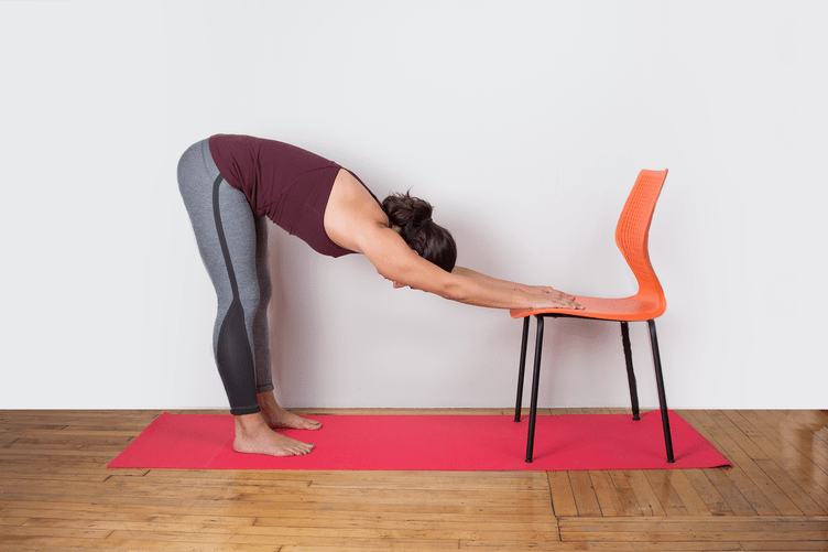 Yoga Half Dog Chair Lower