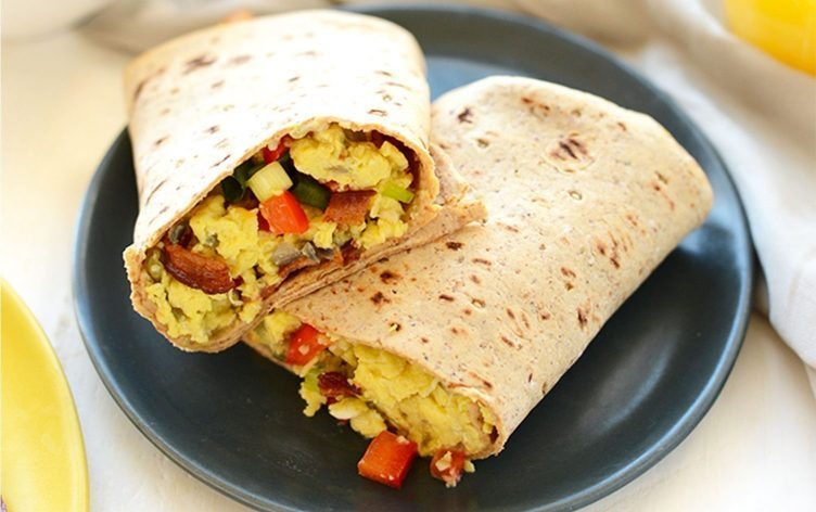 Recipe: Protein-Packed Breakfast Burritos