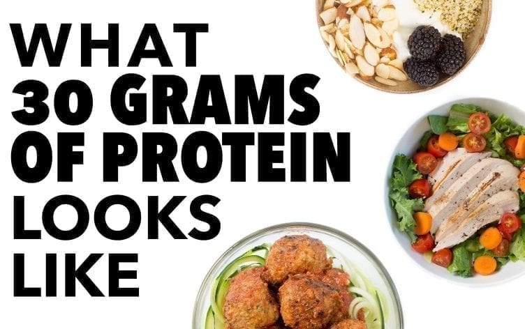 What the Ideal Amount of Protein Looks Like [Infographic]