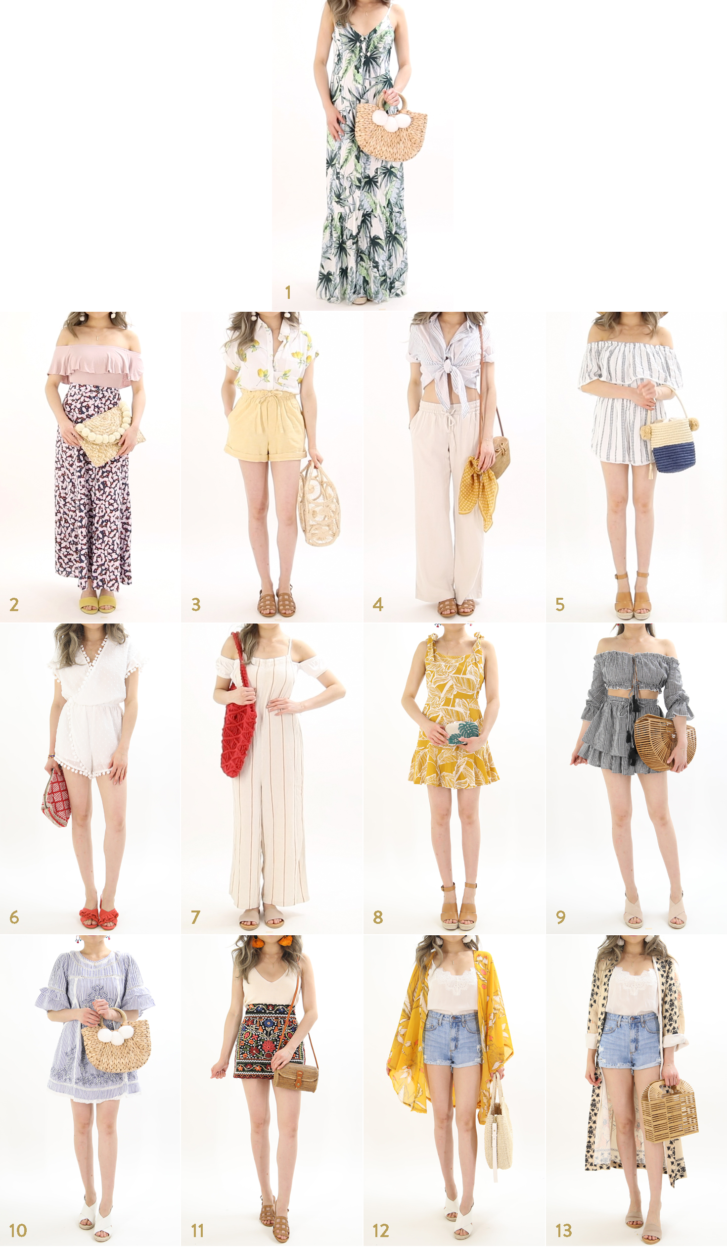 The Ultimate Summer Vacation Outfit Ideas Guide By Miss Louie