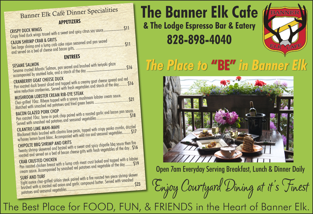 Banner Elk Caf  The High Country