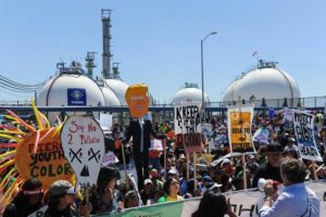 Tesoro Refinery Los Angeles, People's Climate March