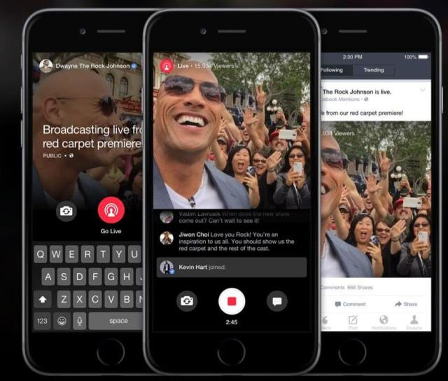 Facebook Live Video Stream llega a páginas verificadas