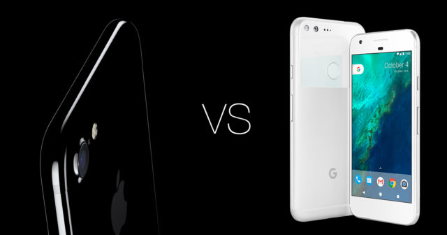 Google Pixel XL mejor que iPhone 7