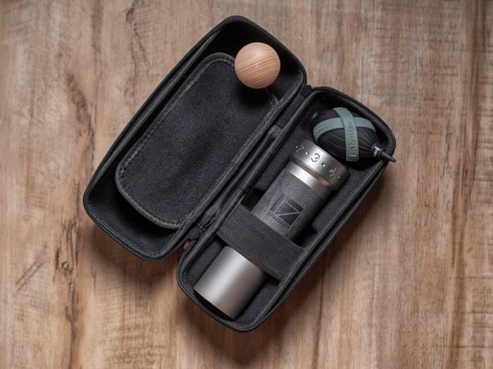K-Pro grinder in Light Gray color