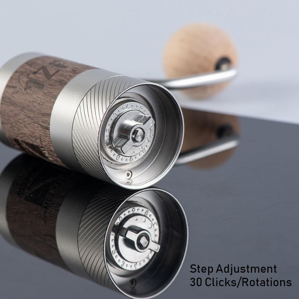 Q2 Grinder - Internal Adjustment Design