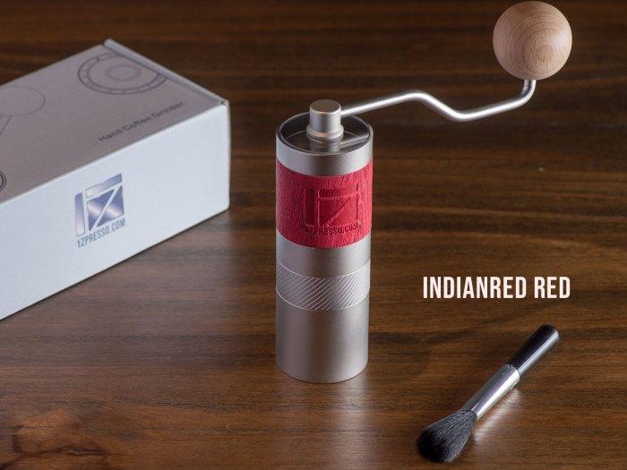 Q2 Grinder in Indianred Red color