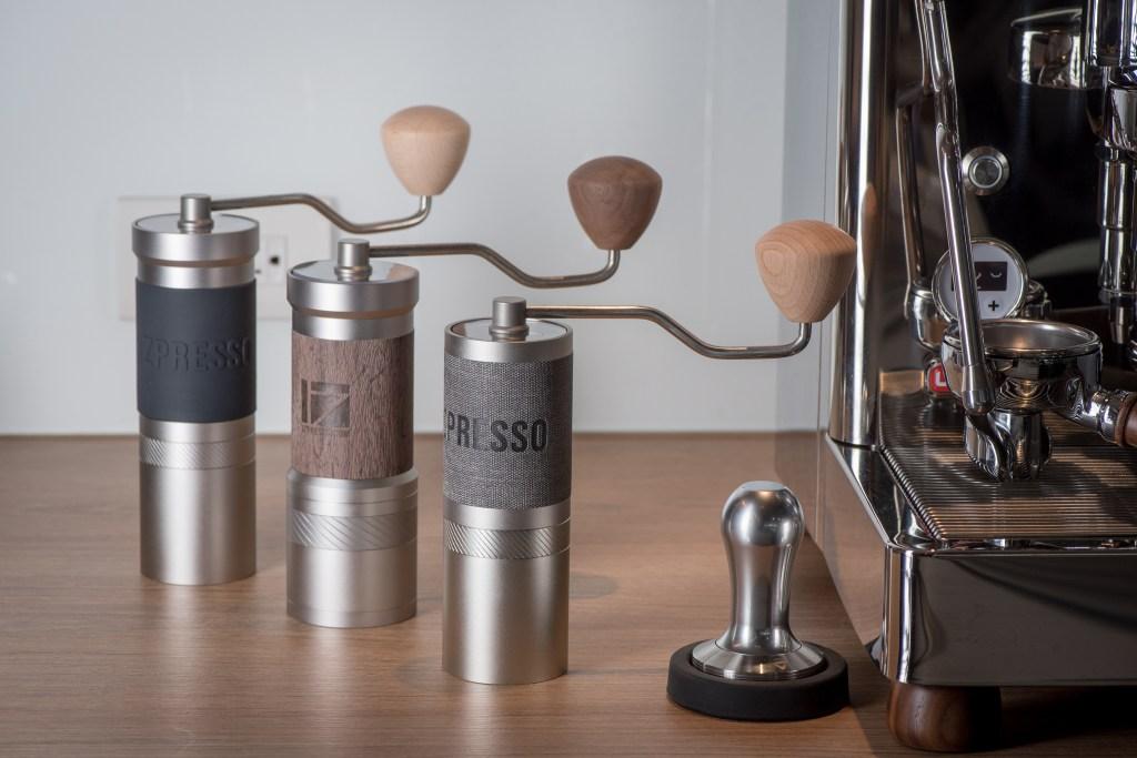 JX-Pro, JE-Plus, JE grinders with espresso machine