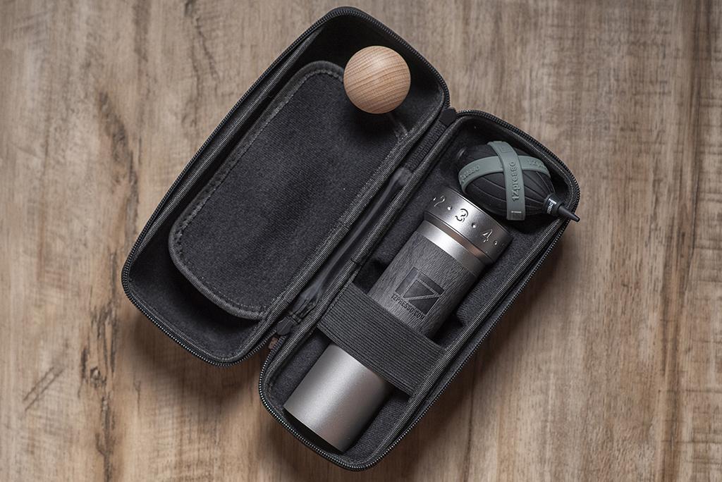 K-Pro grinder with the cylinder case