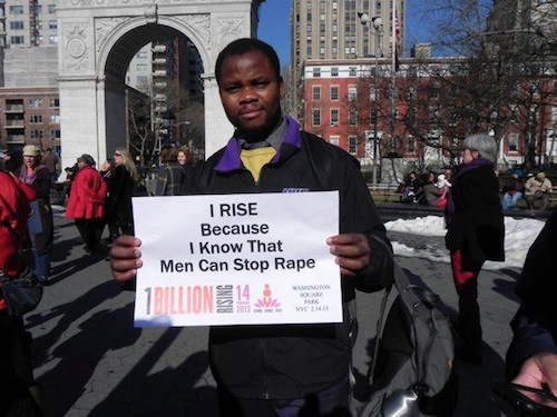 men rising - nyc