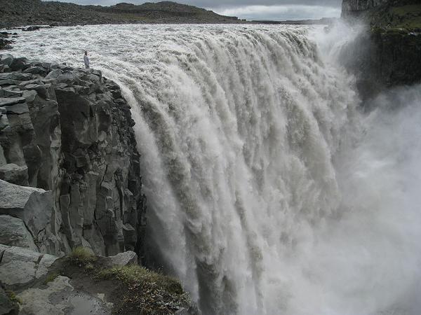 CATARATAS DETTIFOSS, EN ISLANDIA