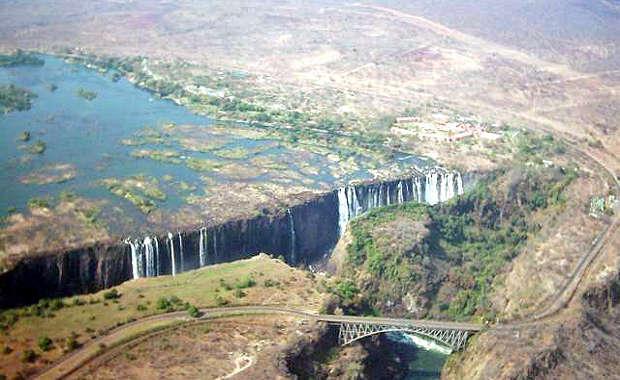 CATARATAS VICTORIA, ENTRE ZAMBIA Y ZIMBABUE