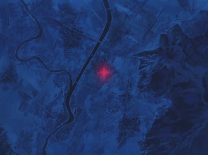 フリクリ4話の地図