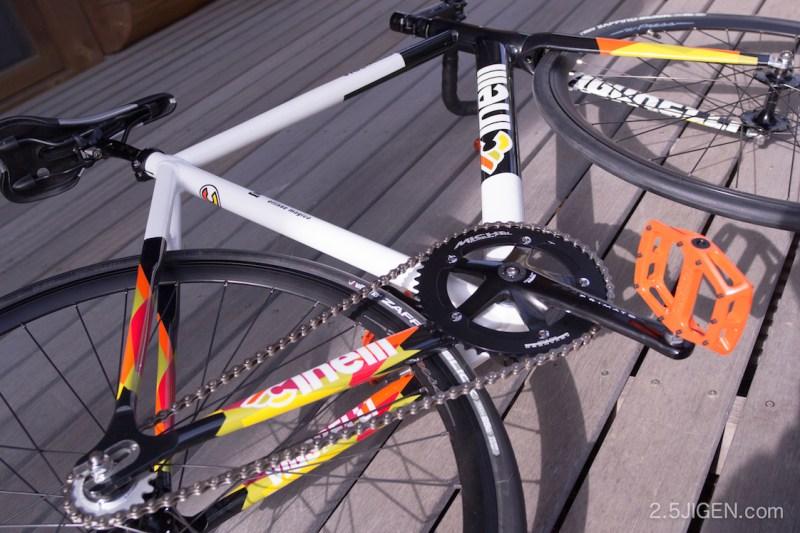 Evans Cyclesで買ったピスト完成車 Cinelli Vigorelli HSL