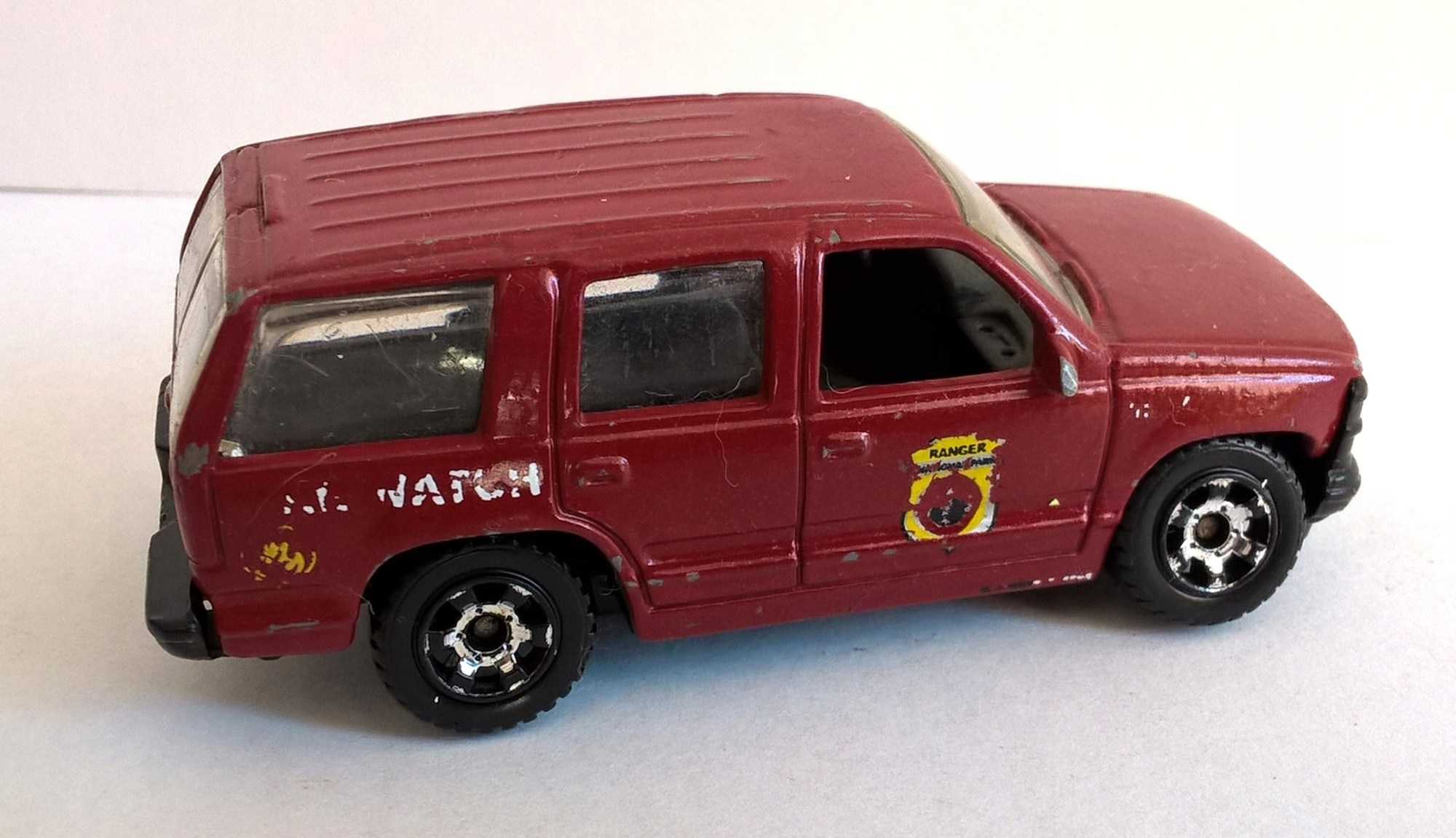 hight resolution of matchbox 97 chevrolet tahoe
