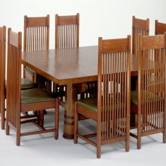 Frank Lloyd Wright Chairs Baby Lounge Chair From A Dining Set Manufacturer Matthews 1904
