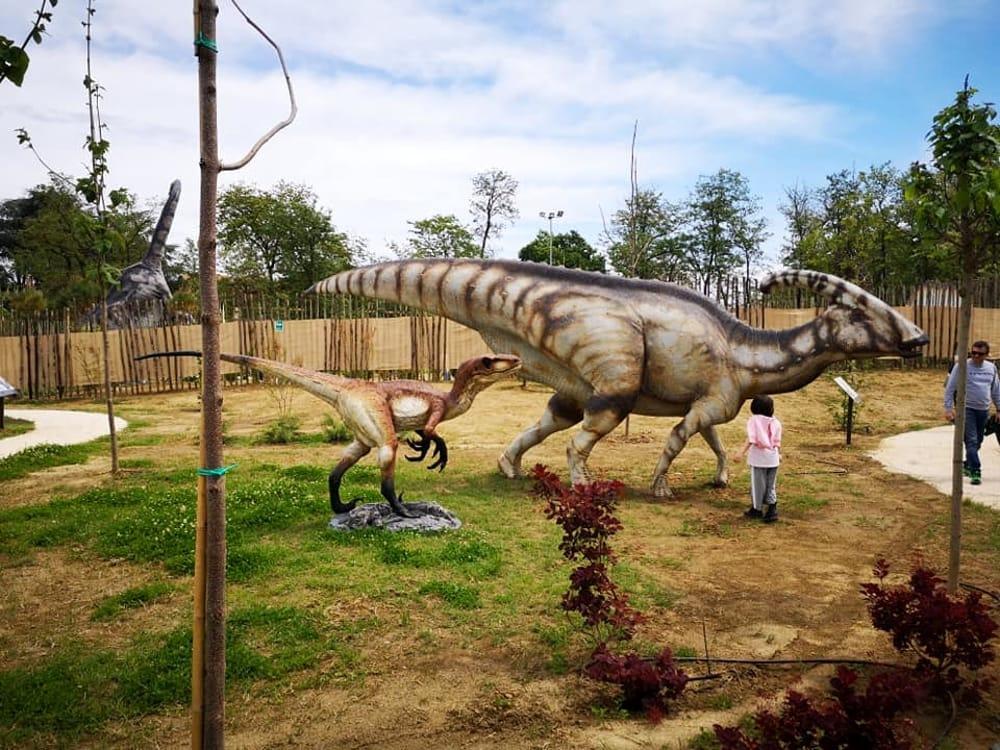 I Dinosauri Sono Tornati A San Lazzaro Il Parco Della