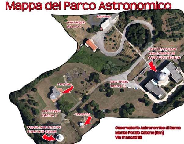Risultati immagini per osservatorio astronomico di Roma planetario