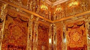 particolare sala dell'ambra del Palazzo di Caterina-2