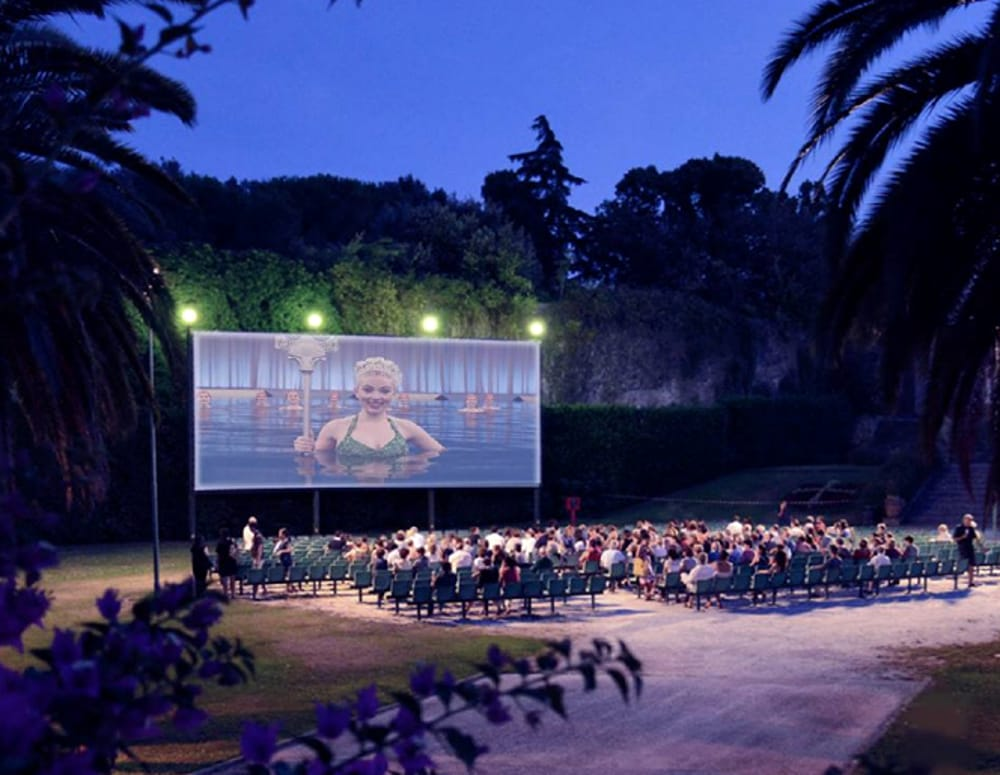 Cinema Al Giardino Scotto Di Pisa Estate 2016