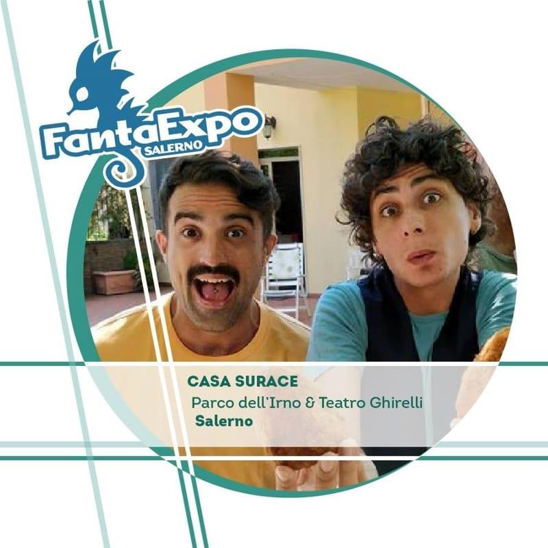 Casa Surace fa tappa al FantaExpo 2017 Eventi a Salerno