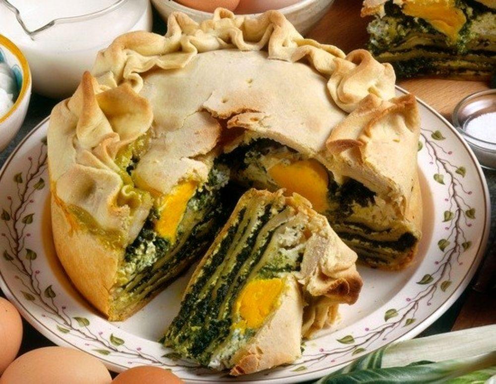 Cucina Ligure Torta Di Riso