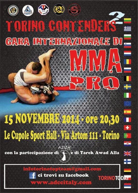 Mma torino contenders al 15 e 15 novembre 2014 Eventi a Torino