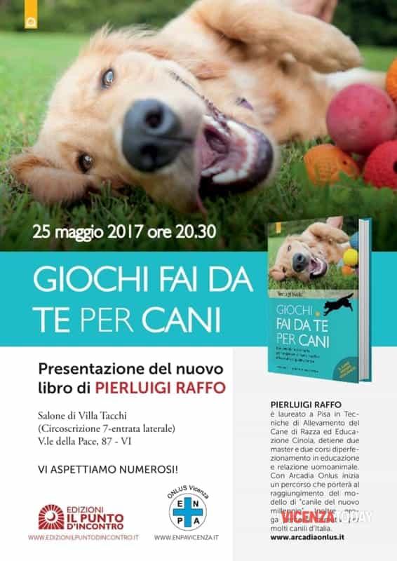 Giochi Fai Da Te Per Cani Con Pierluigi Raffo A Villa