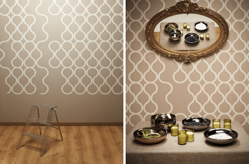 Tear Off Wallpaper by ZNAK in interior design  Category