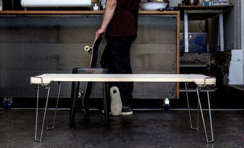 A Table Inspired by Vines: Clip by James Boock in home furnishings Category