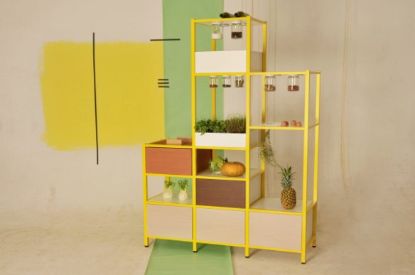 Food Pyramid Storage + Other Furniture by FridayProject in home furnishings Category