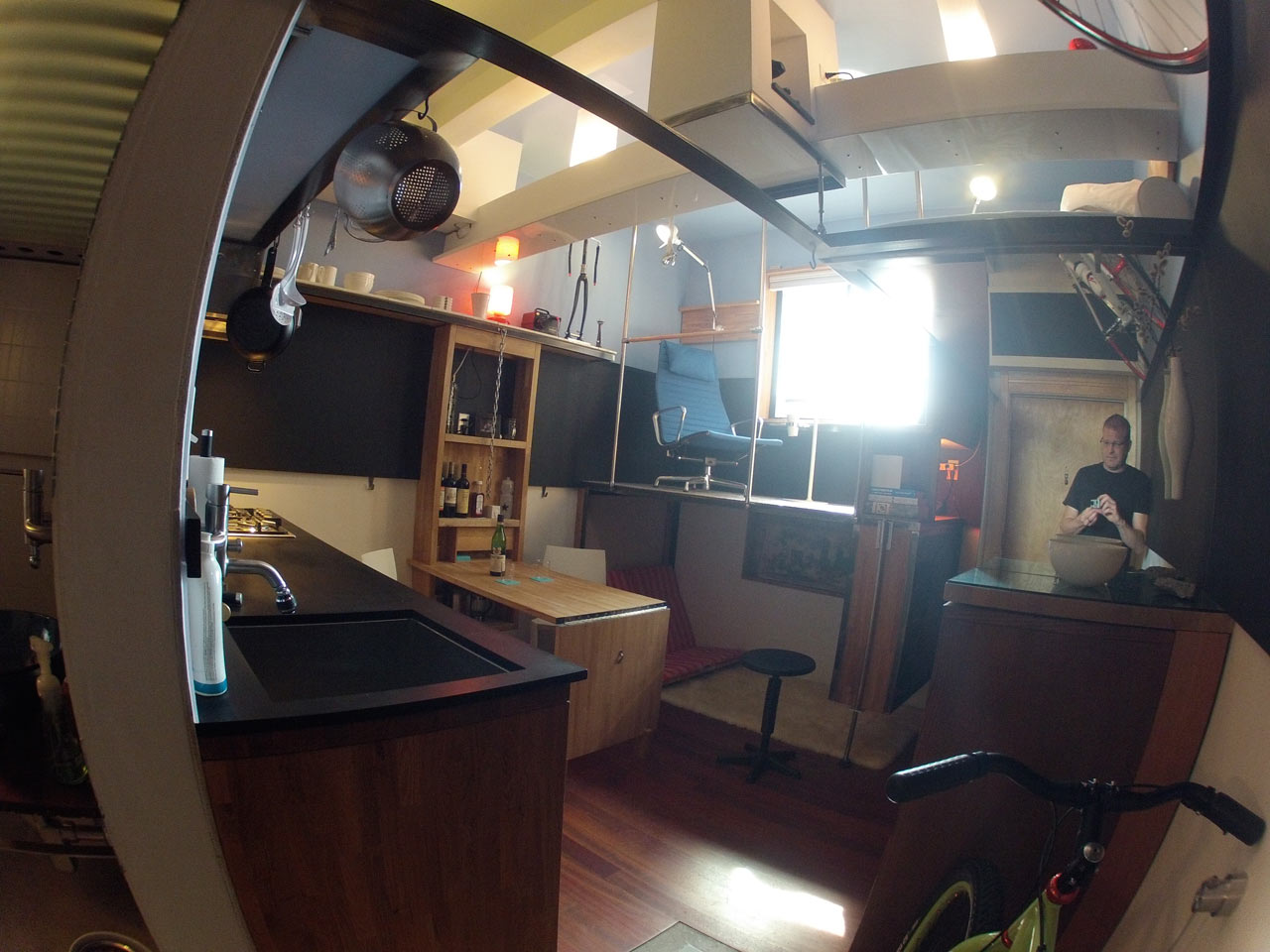 182 Square Foot Micro Apartment in Seattle