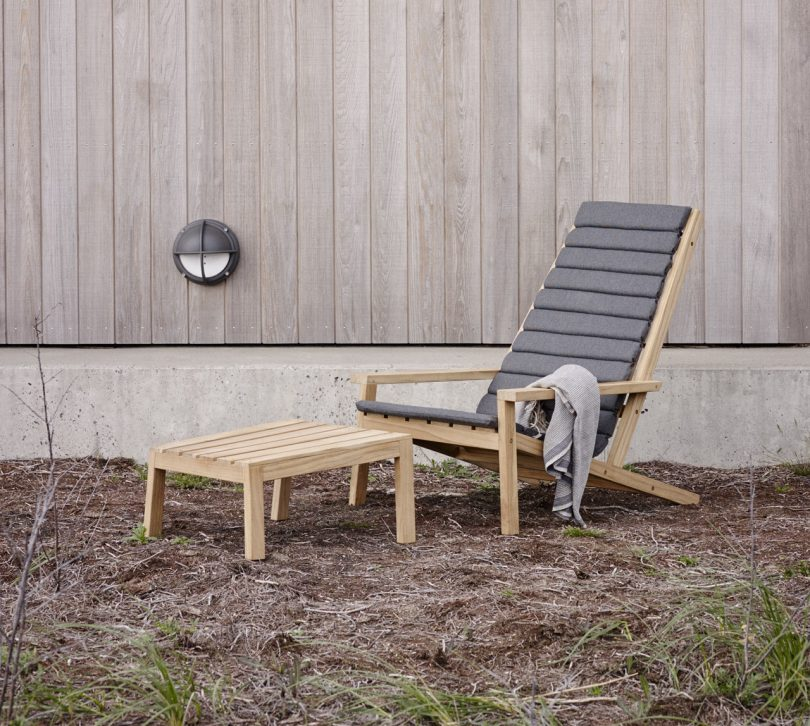 New Wooden Outdoor Furniture from Skagerak