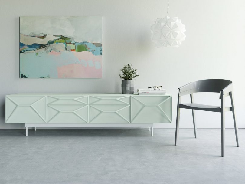 RAVN: A Collection of Modular Sideboards by Max Voytenko