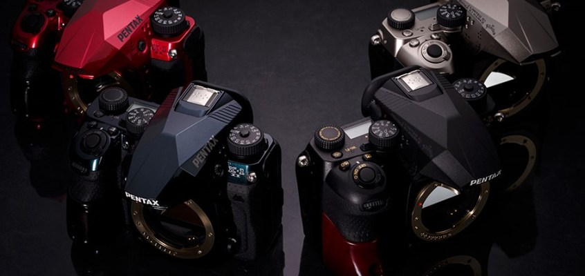 Pentax announces K-1 II J Limited 01 DSLR in four colors for the Japanese market