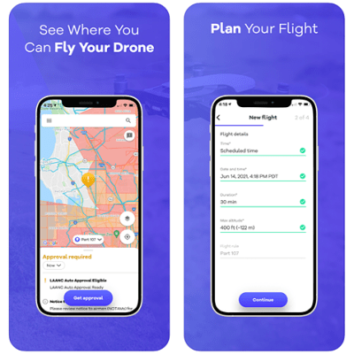 Google's Wing launches a free app in the United States to help drone pilots legally fly