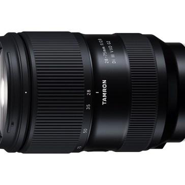Tamron developing redesigned 28-75mm F2.8 for full-frame Sony E-mount