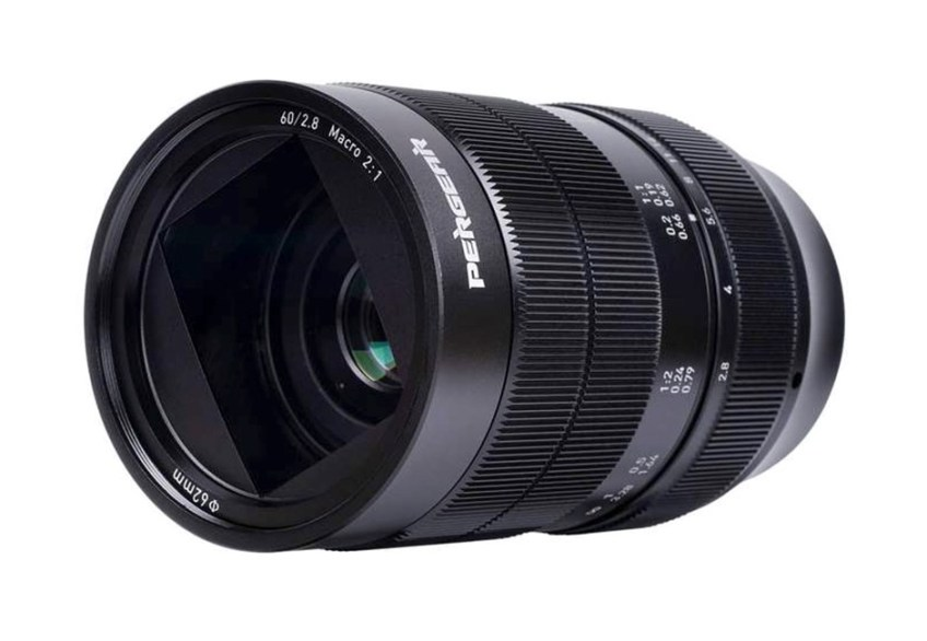 Pergear announces $229 60mm F2.8 2x macro lens for APS-C camera systems