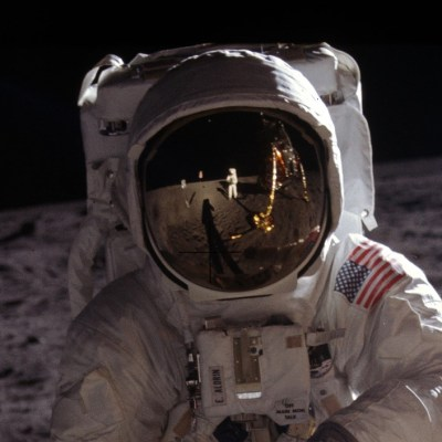 Redditor 'unwraps' iconic Apollo 11 image, showing Buzz Aldrin's perspective for first time