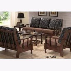 Wooden Sofa Designs For Living Room Leather Sectional Pieces Designer Set At Rs 90000 Piece S Lakdi Ka