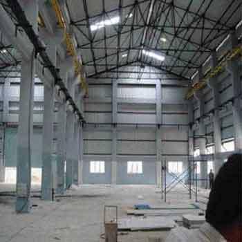 steel roofing fabrications work